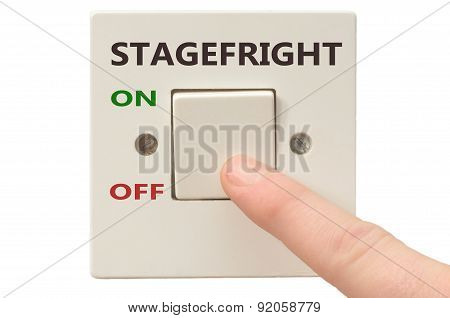 Dealing With Stagefright, Turn It Off
