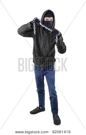 Gangster Member With A Chain