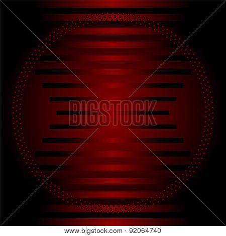 Stripe circle dark red Background template
