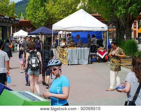Whistler's Sunday Farmers Market