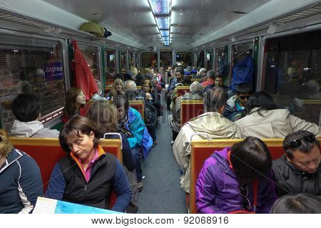 The Jungfrau Train