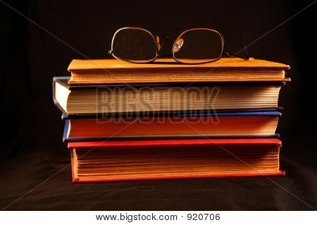 Old Books & Glasses