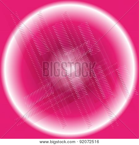 Designing simple summary tech background pink circle