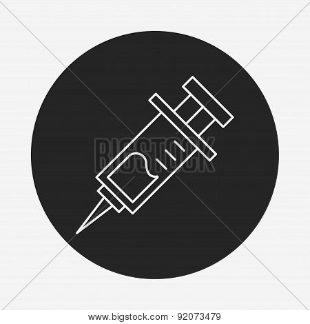 Syringes Line Icon