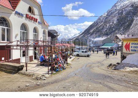 Caucasus. Settlement Of Cheget
