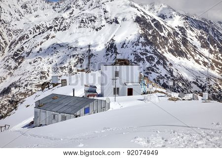 Caucasus. Cheget. Weather Station