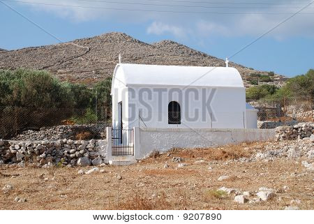 Small chapel, Halki island
