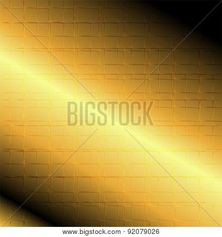 Grid line golden bacground