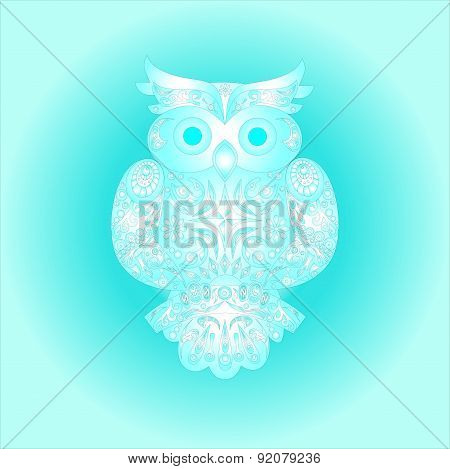 owl the turquoise