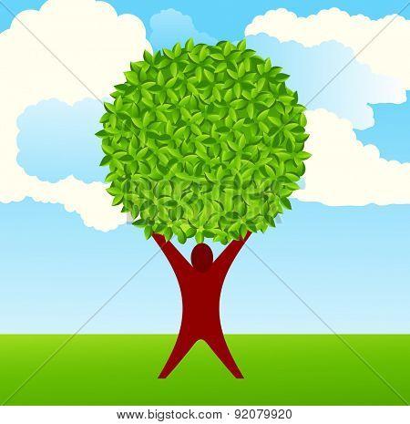 human tree  environment