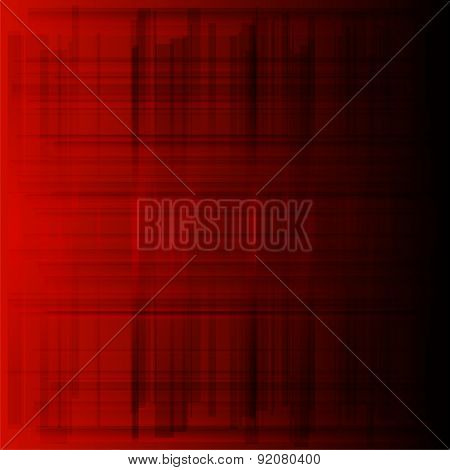 Red background metal texture black grid texture