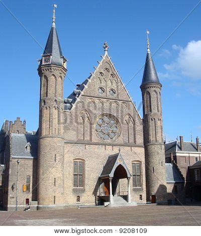 Ridderzaal (dutch Government) At The Binnenhof, The Hague