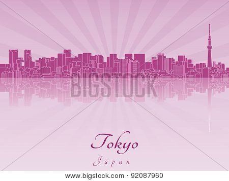Tokyo V2 Skyline In Purple Radiant Orchid