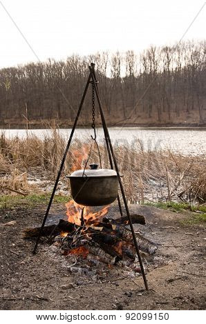 Cooking On Campfire
