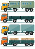 picture of truck  - Vector Truck Icons  - JPG