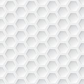 pic of hexagon pattern  - White 3d hexagon seamless pattern vector background - JPG