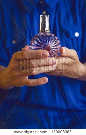 Perfume In Women's Hands