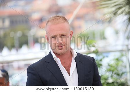 Ben Foster attends the 'Hell Or High Water' Photocall during the 69th annual Cannes Film Festival on May 16, 2016 in Cannes, France.