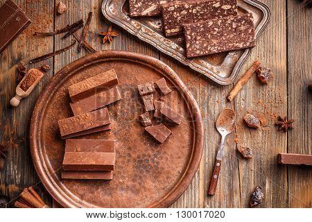 Homemade Chocolate Fudge