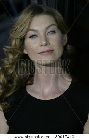Ellen Pompeo at the Los Angeles premiere of 'Collateral' held at the Orpheum Theatre in Los Angeles, USA on August 2, 2004.
