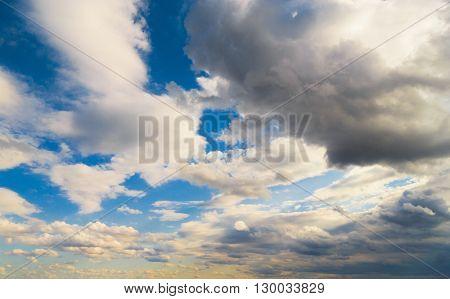 Shining Day Cloudscape Divine