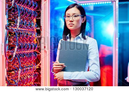 Young technician specialist