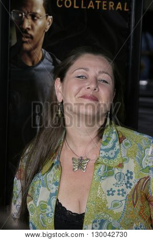 Camryn Manheim at the Los Angeles premiere of 'Collateral' held at the Orpheum Theatre in Los Angeles, USA on August 2, 2004.