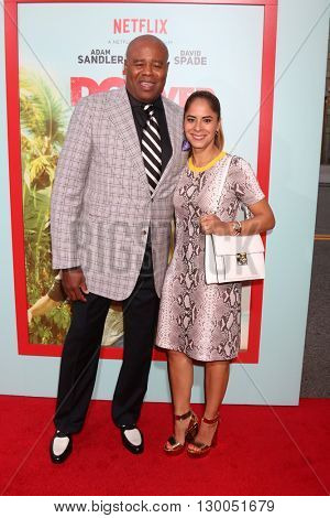 LOS ANGELES - MAY 16:  Chi McBride, Julissa McBride at the The Do-Over Premiere Screening at the Regal 14 Theaters on May 16, 2016 in Los Angeles, CA