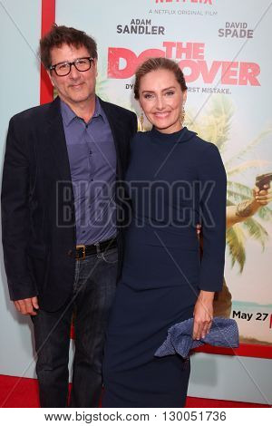 LOS ANGELES - MAY 16:  Steven Brill, Ruthanna Hopper at the The Do-Over Premiere Screening at the Regal 14 Theaters on May 16, 2016 in Los Angeles, CA