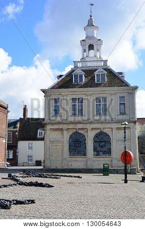 Custom House Kings Lynn Norfolk England uk