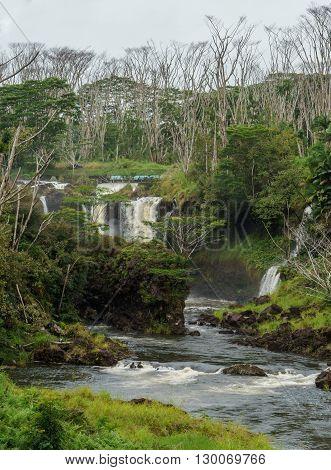Pe'epe'e Falls Hawaii