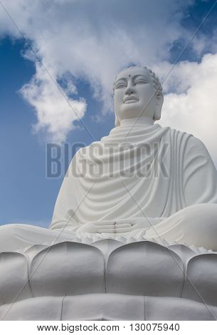 Tian Tan Buddha - The worlds's tallest Buddha in Lantau Island, Hong Kong.