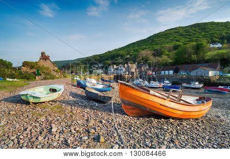 Porlock Weir On The Exmoor Coast