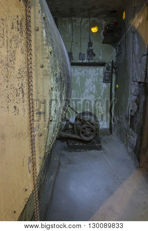 Old Motor In Fan Room