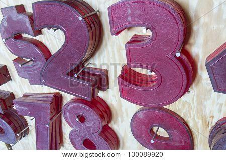 Movie Marquee Numbers