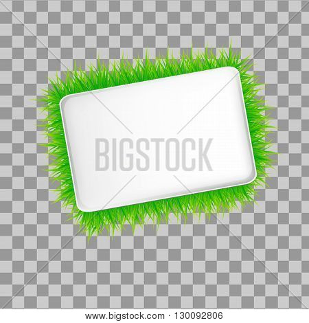 vector isolated  moder banner ecology on background