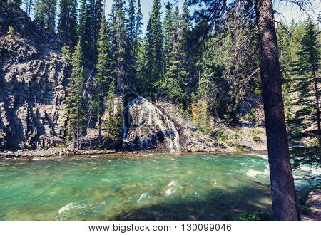 Johnston Canyon in Banff NP, Canada