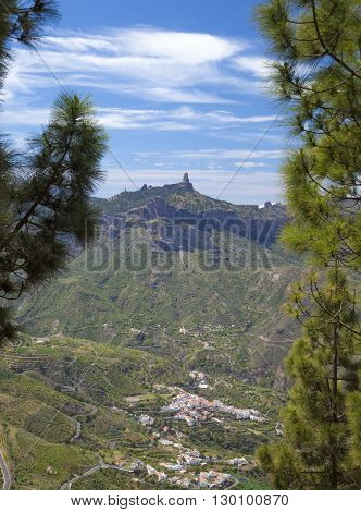 Gran Canaria, Calders De Tejeda In April