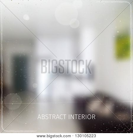 soft defocused business background with abstract unrecognisable interior