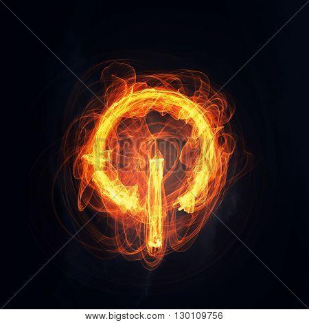 Fire power button