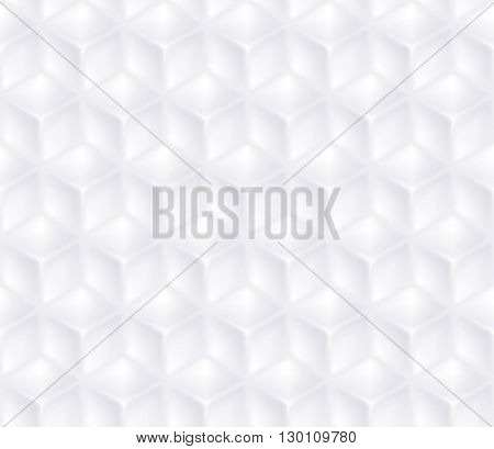 Geometric vector cubes seamless background.