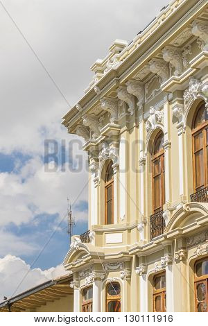 Historic Center Of Quito Ecuador