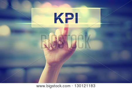 Kpi - Key Performance Indicator Concept