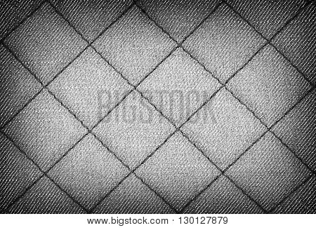 Jeans texture for the background. Gray color