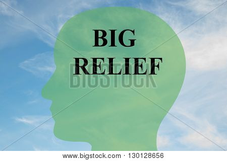 Big Relief Mental Concept