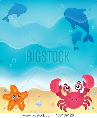 Beach theme image 5 - eps10 vector illustration.