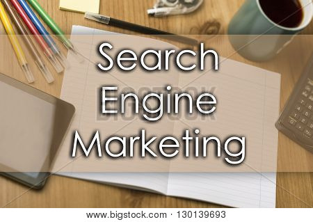 Search Engine Marketing Sem - Business Concept With Text