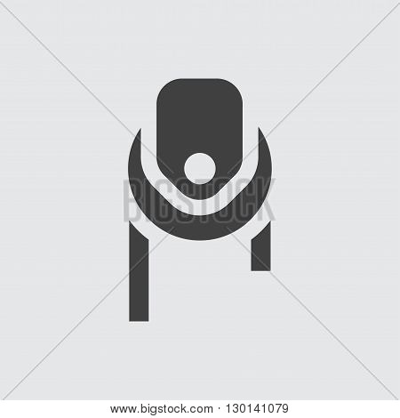 Pulley icon illustration isolated vector sign symbol
