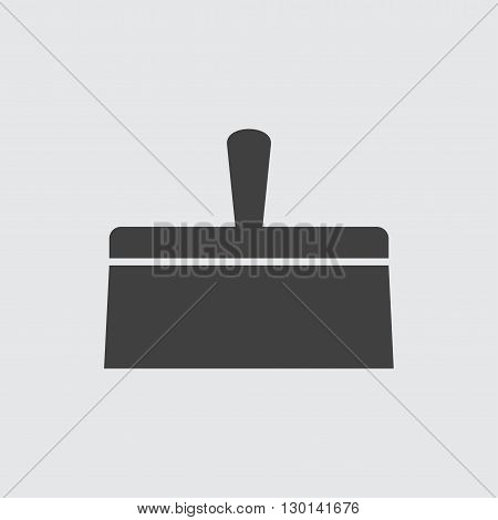 Putty knife icon illustration isolated vector sign symbol