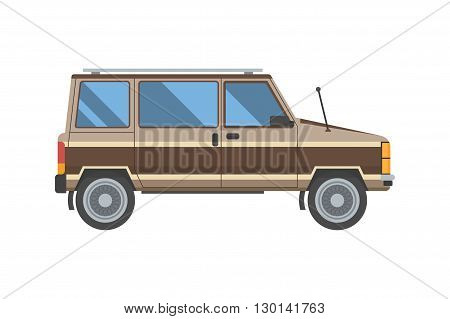 Old Minivan Car